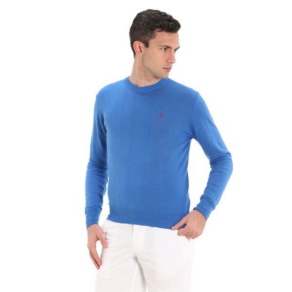 Jersey Fluyt para hombre, en algodón y con cuello caja