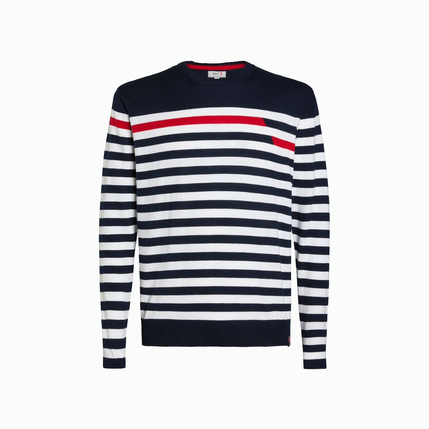 Jumper A177 - Navy / White