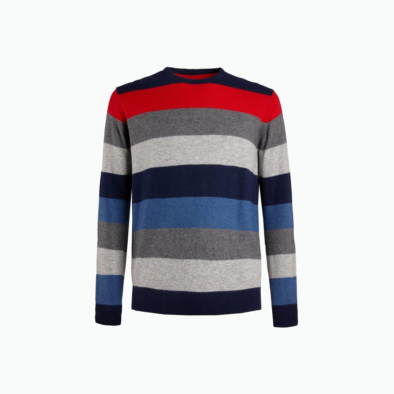 B135 sweater - Fancy Stripes