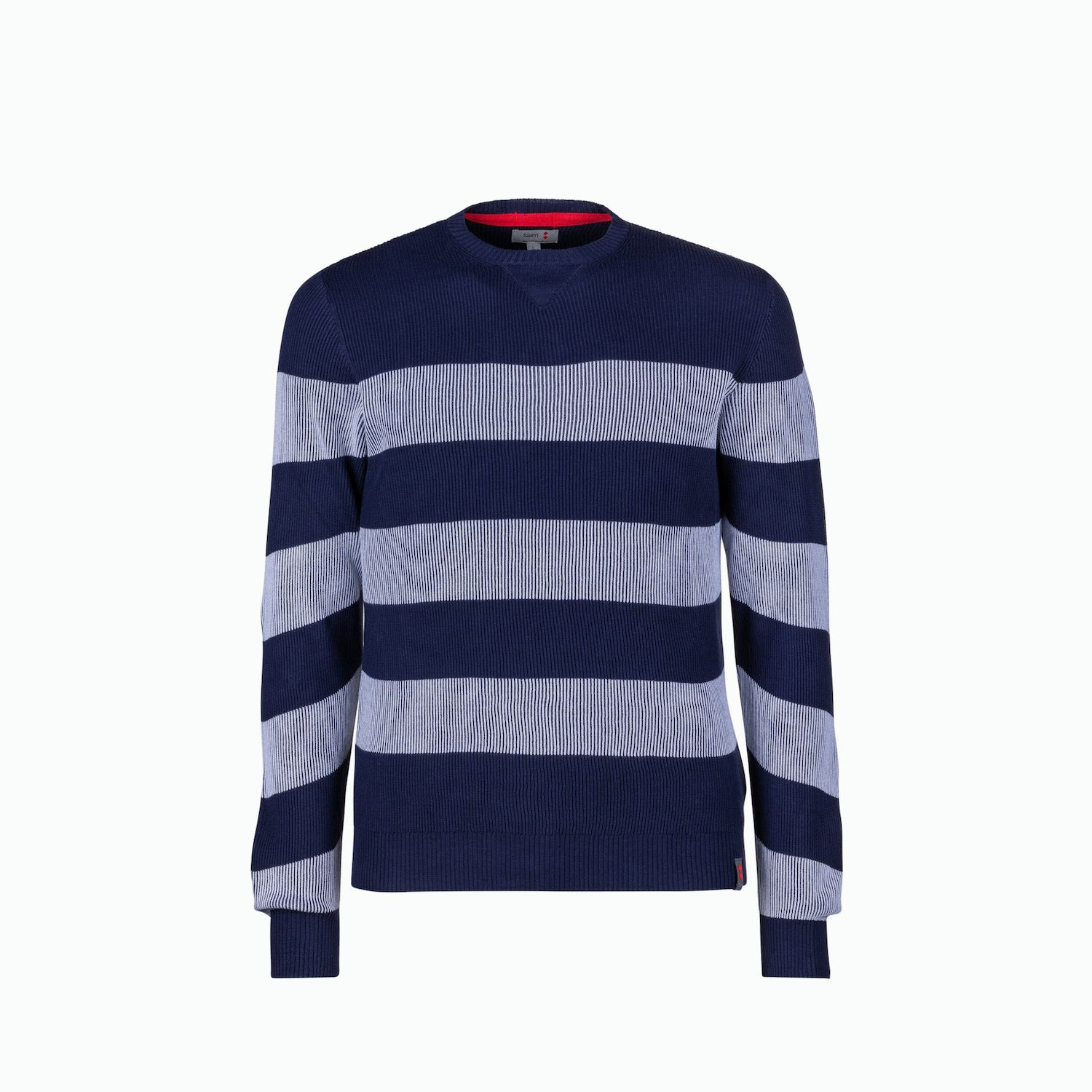 Maglioncino C209 - Navy / Bianco