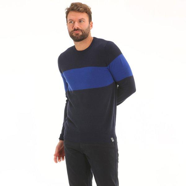 Maglione uomo F79 girocollo in misto lana