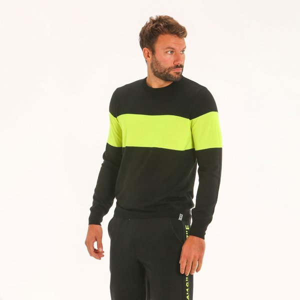 Men jumper F79 in merino blend