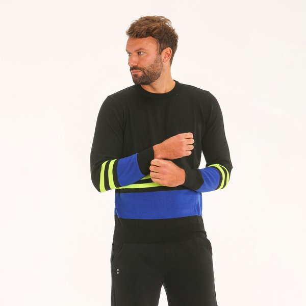Men jumper F80 in merino blend
