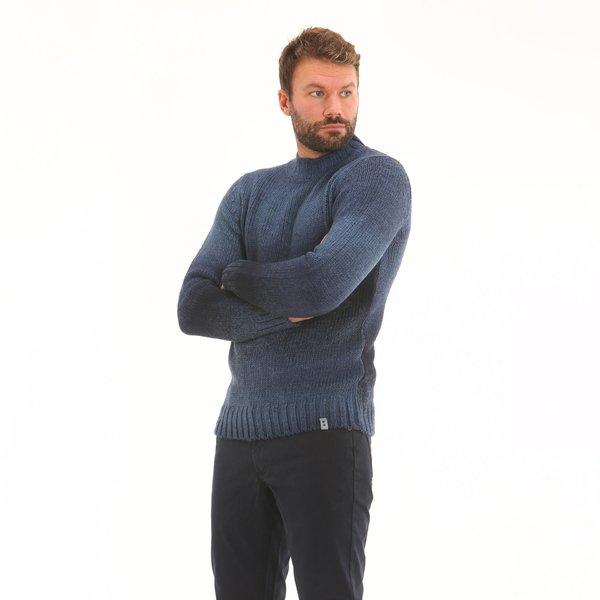 Maglione uomo F69 girocollo in misto lana