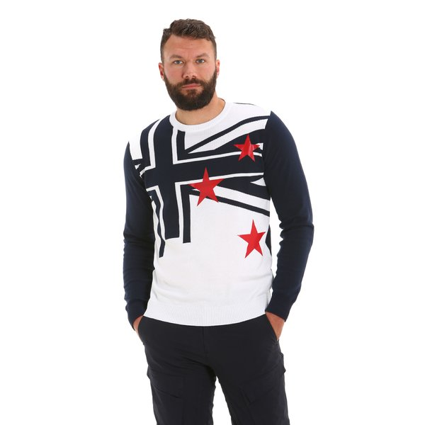 Jersey G36 para hombre, en algodón y con cuello caja