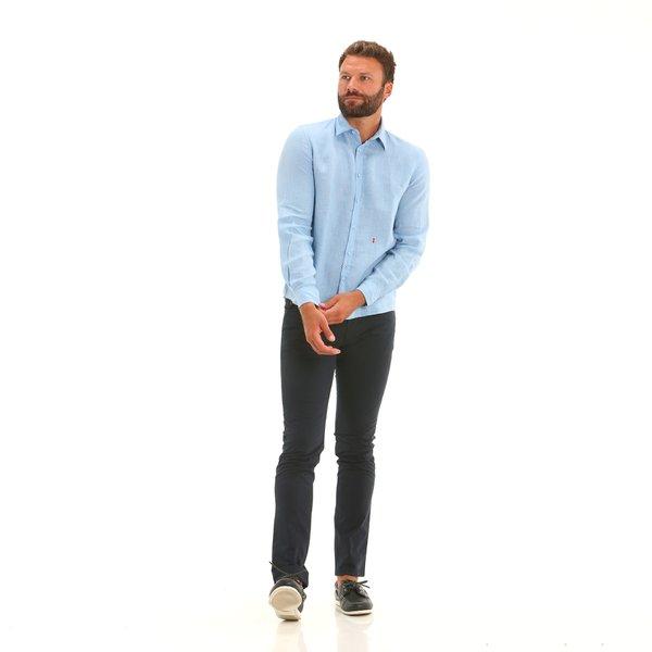 Pantalon homme Bridge avec cinq poches en stretch twill