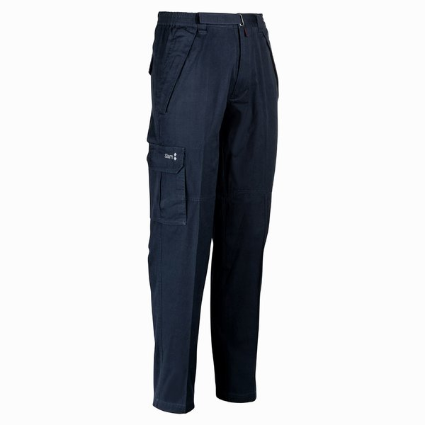 Men's sailing trousers 2.1 pocketed in cotton