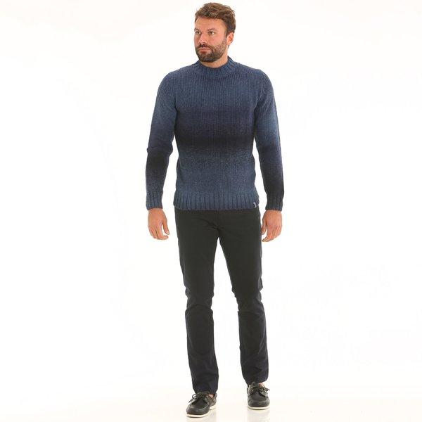 Herrenhose B4 aus elastischem Baumwoll-Twill-Stretch