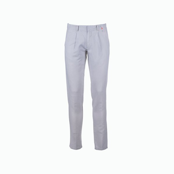 Men C57 Linen blend trousers with a tight fit