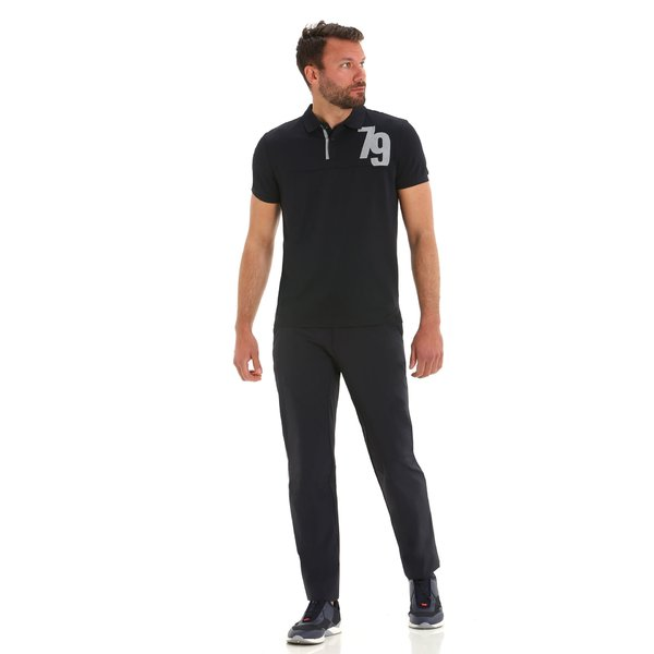 Technical E149 men's trousers in solid color