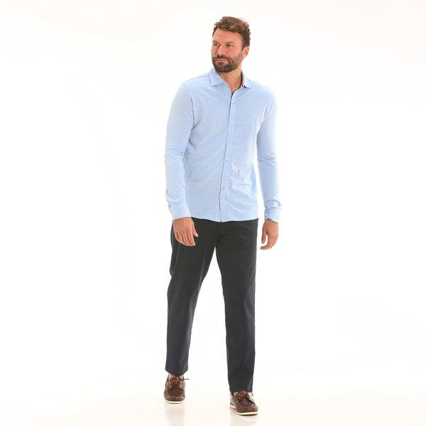 Pantalone uomo F162 chino in cotone elasticizzato