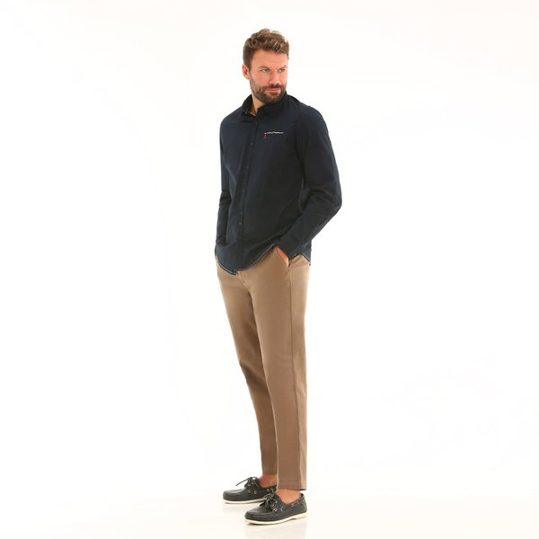 Men Trousers F162 stretch cotton chinos