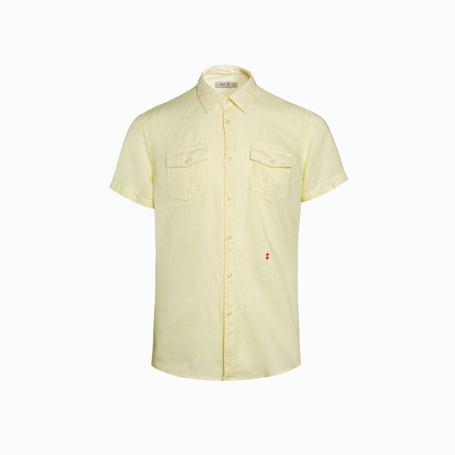 Shirt A143 - Light Yellow
