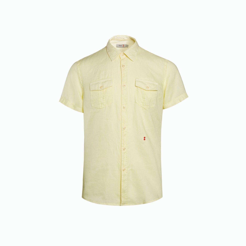 Shirt A143 - Light Yellow