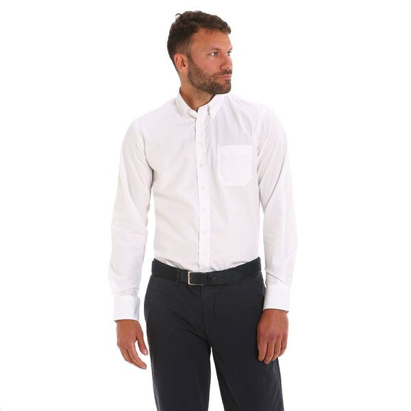 Bronson 2.1 man shirt in cotton pipeline no iron