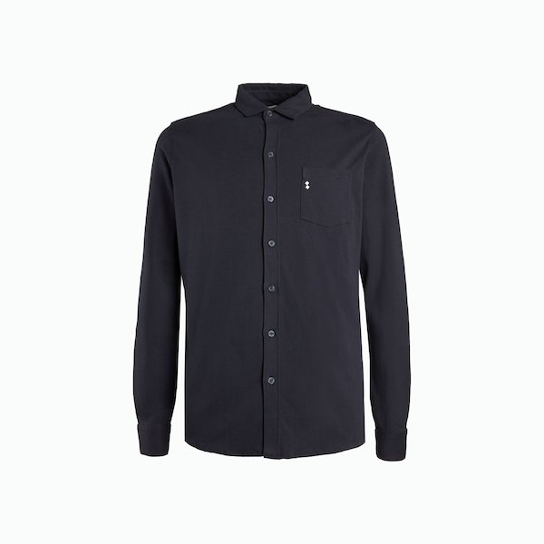 Men's B47 shirt in stretch cotton with pocket