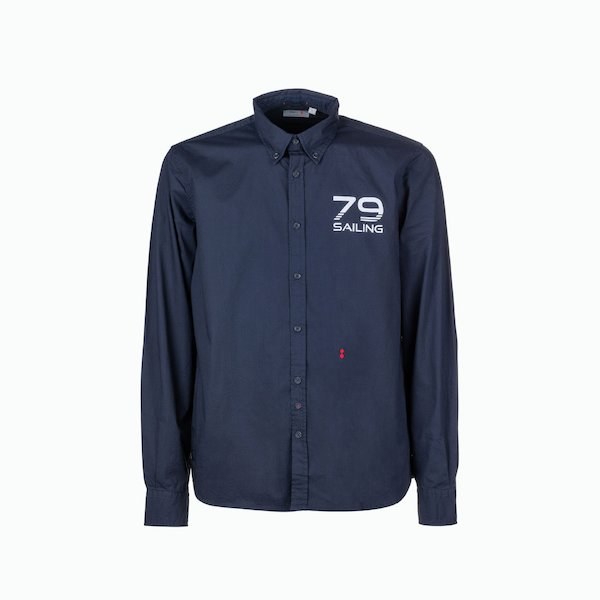 Long-sleeved C20 men's shirt with tight fit