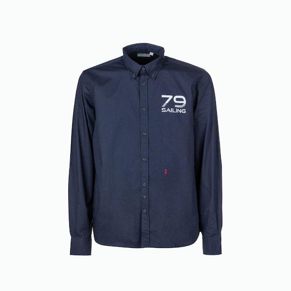 Camisa hombre C20 de manga larga ajuste apretado