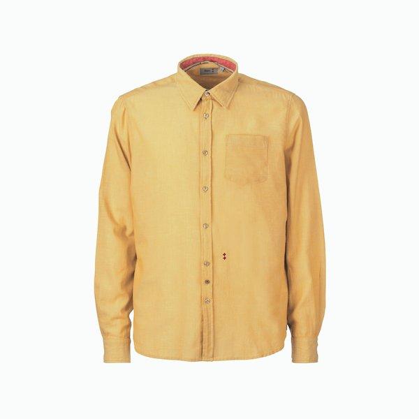 Chemise homme C26 à manches longues en chambray 100% coton