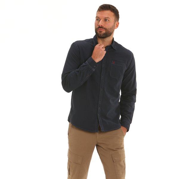 Camicia uomo F142 a manica lunga in cotone Oxford