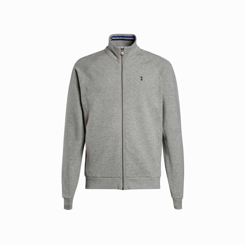 Sweatshirt A37 - Grigio Chiaro Melange