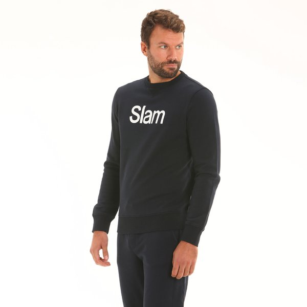 Men sweatshirt D167 in french terry cotton