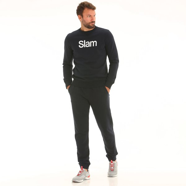 D165 men's sweatpants with elastic drawstring waist
