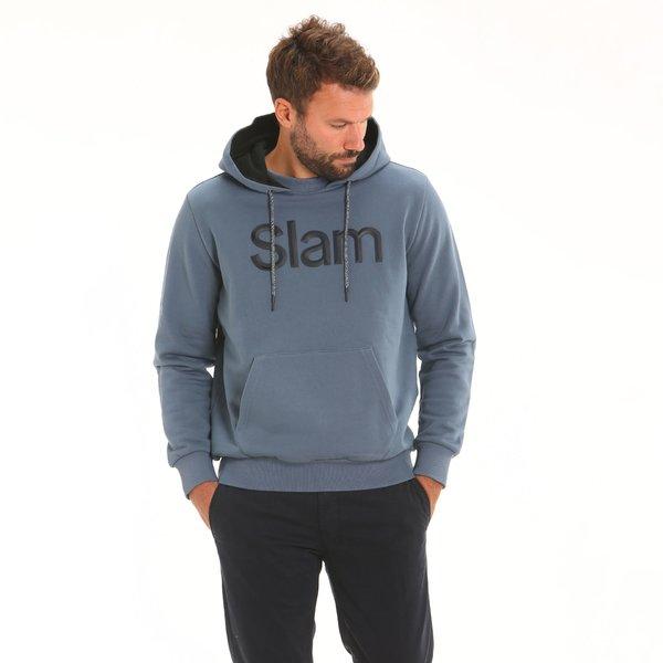 Herren-Sweater F88 aus 100 % Baumwolle mit Bauchtasche