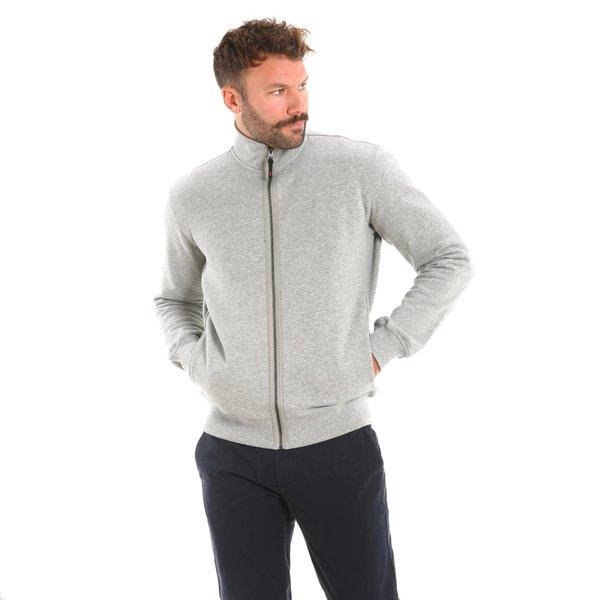 100% cotton Track Top zipped Men's sweatshirt F95