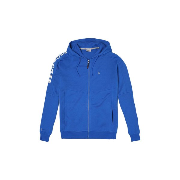 G51 men's hooded full-zip sweatshirt in organic cotton