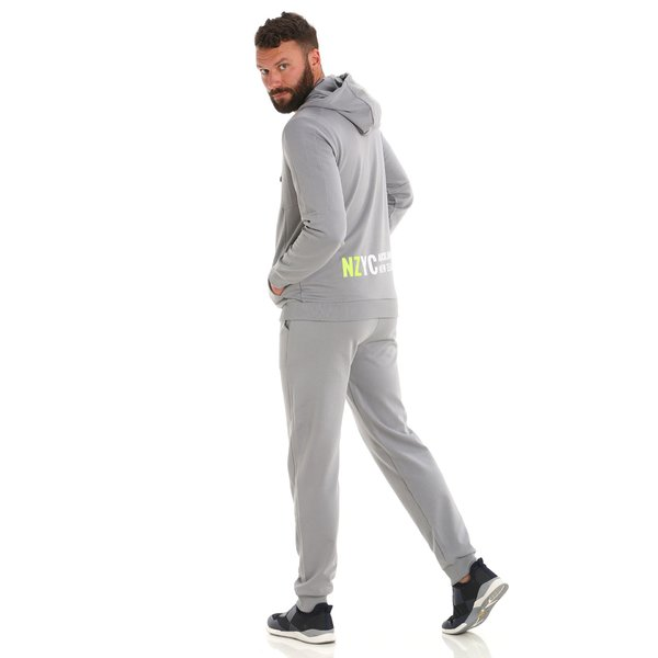 G53 men's sweatpants in organic cotton with elastic drawstring waist