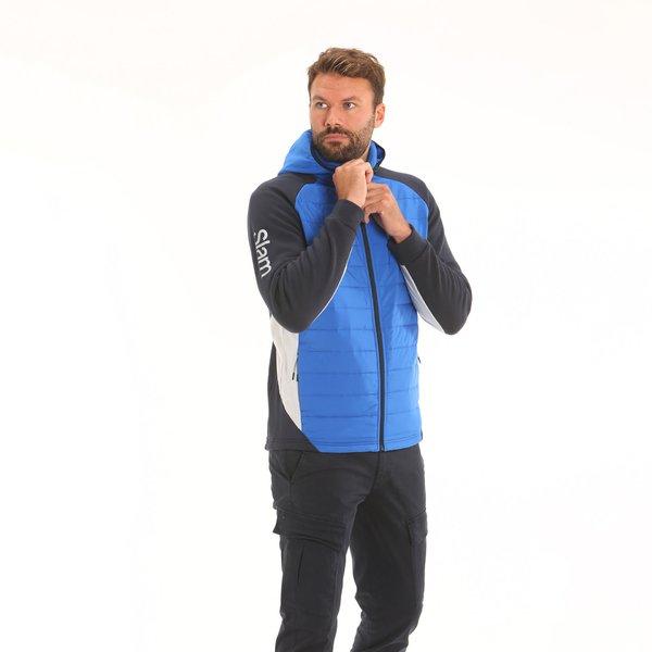 Suéter de lana hombre F45 con capucha