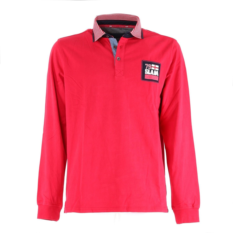 Abido polo shirt - Flame Red
