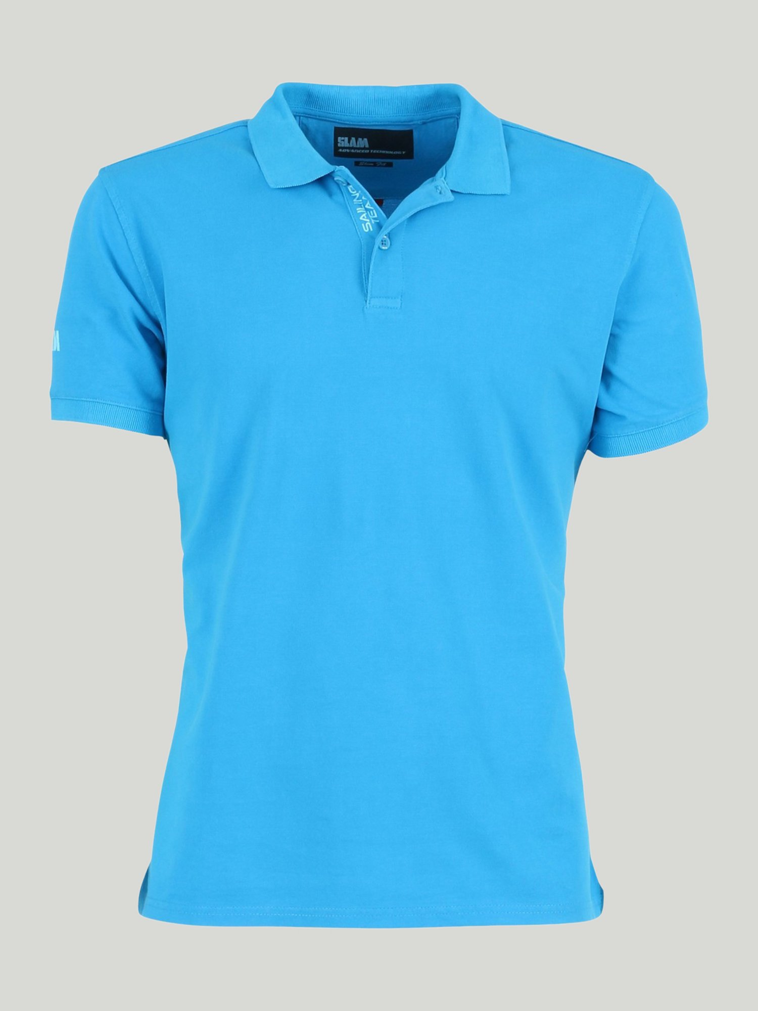 Cutro New polo shirt - Turquoise Neon