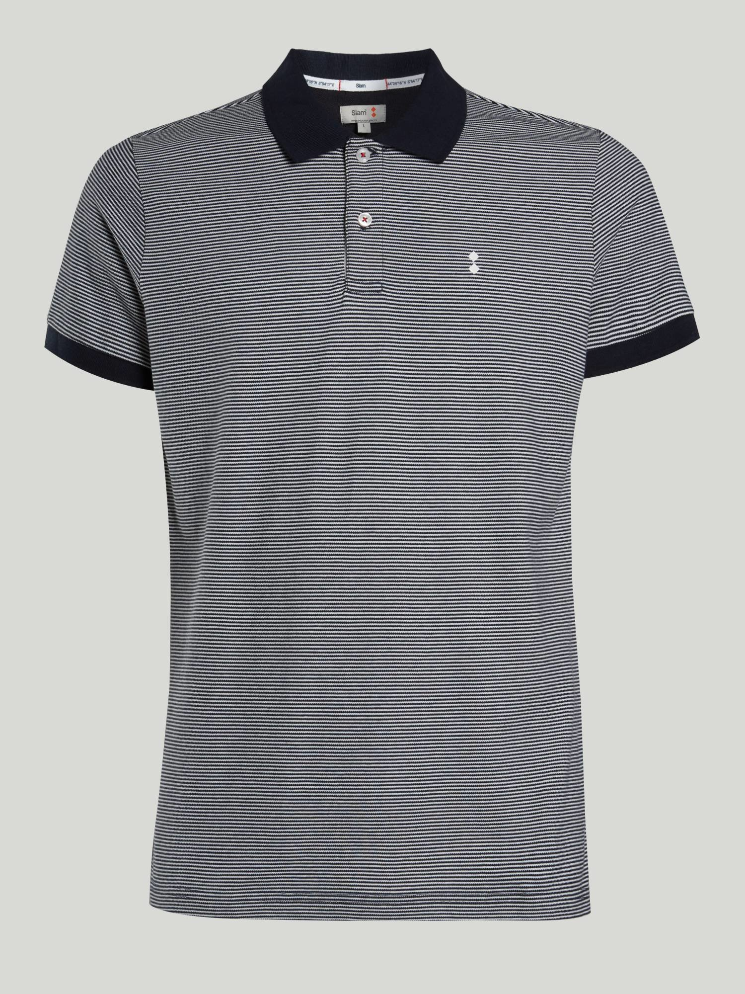 Polo A111 - Navy / White