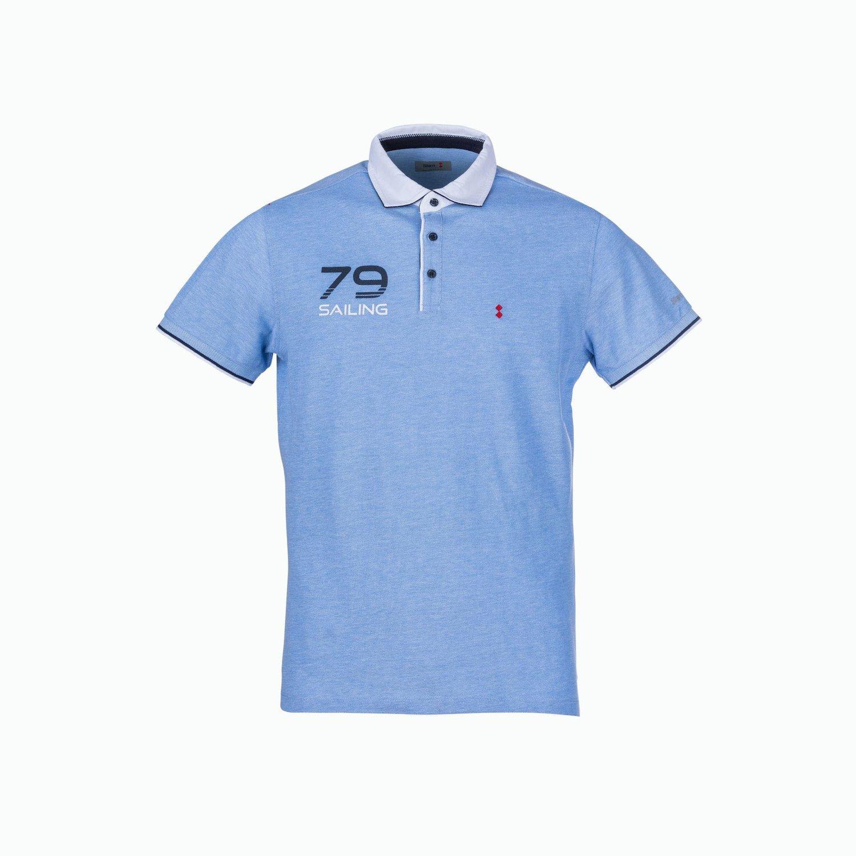 C113 Polo - Azul Claro