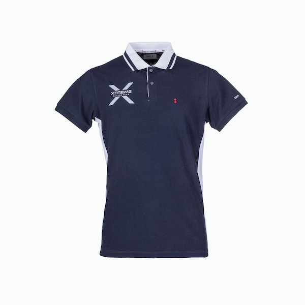 Men's Polo C116 with logo on the edge of the collar