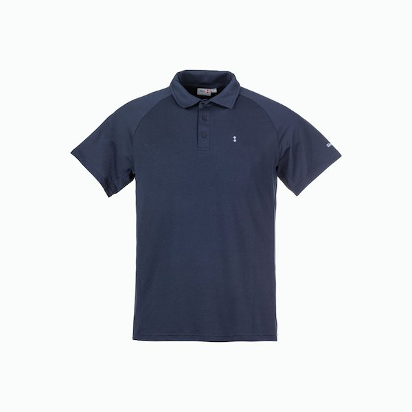 Men's Polo shirt C143 technique with honeycomb structure