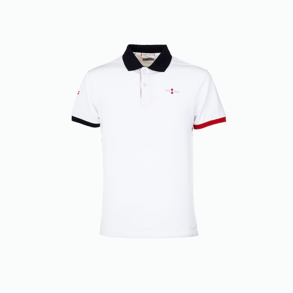 Men's short-sleeved polo shirt 40th anniversary
