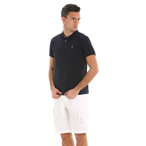 Polo homme G78 en jersey stretch de coton organique
