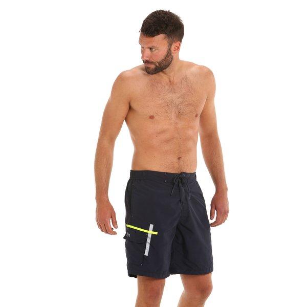 Bañador G156 estilo bóxer para hombre con bolsillos laterales
