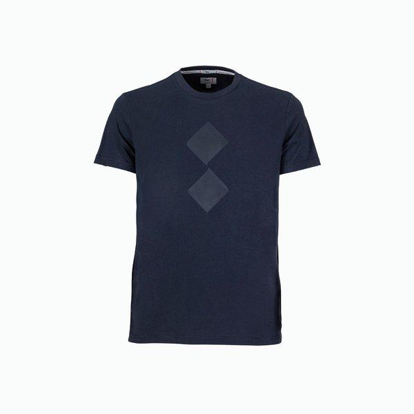 T-Shirt uomo Cutter con logo ton sur ton