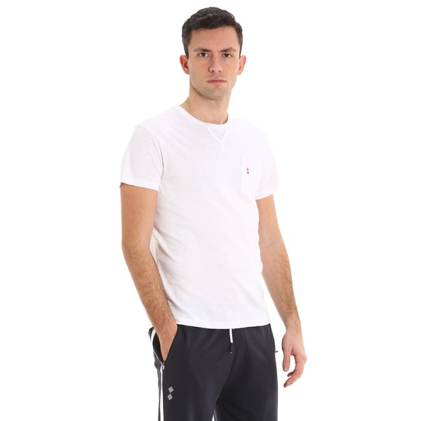 A105 men's short-sleeved crew-neck cotton t-shirt