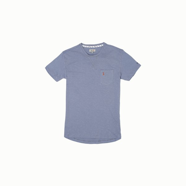 Kurzärmliges Herren-T-Shirt A105 mit Rundausschnitt aus Baumwolle.