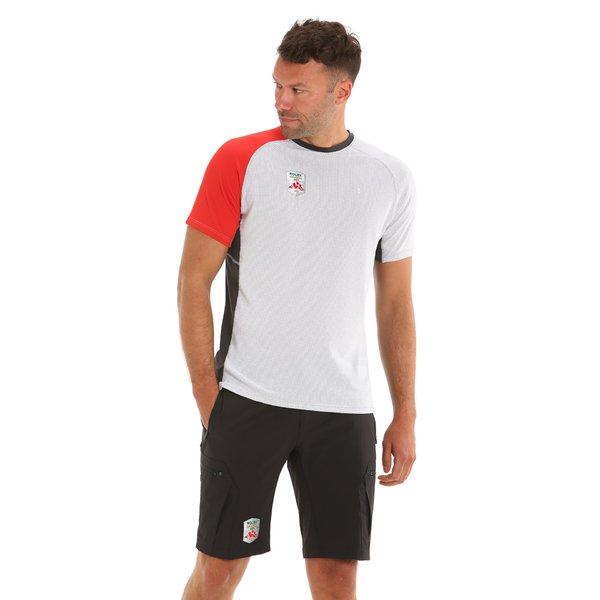 C141 men's crew-neck t-shirt with contrasting details Rolex Giraglia