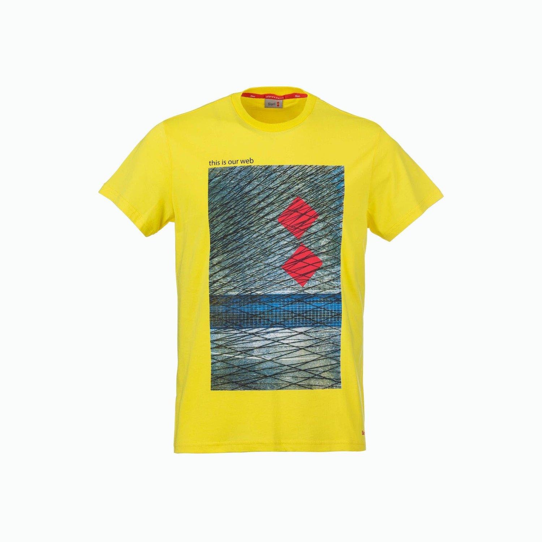 C168 T-Shirt - Amarillo Flameante