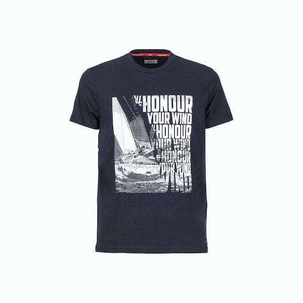 Camiseta hombre C170 de algodón con la impresión de dos colores