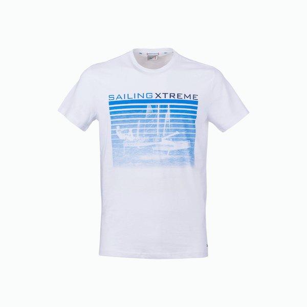 Camiseta de hombre C180 de algodón con el esquema de color vintage