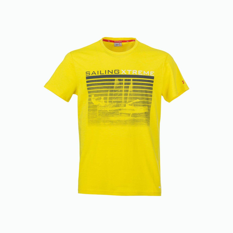 C180 T-Shirt - Amarillo Flameante