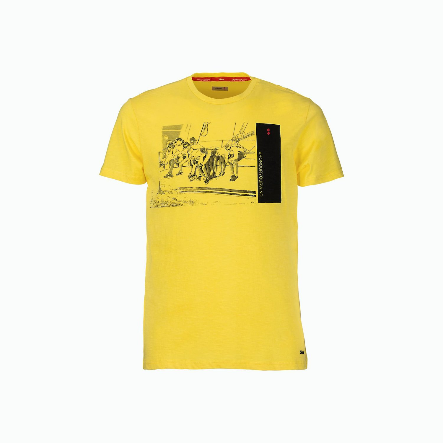 T-Shirt C181 - Blazing Yellow